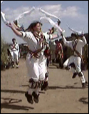 The Maroon Bells Morris Dancers - May Day dancing at Harlequin's Gardens in Boulder, CO