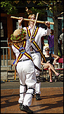 The Maroon Bells Morris Dancers - Performing the Adderbury morris dance 'South Australia'