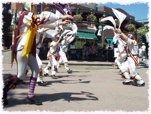 The Maroon Bells Morris Dancers were founded in the spring of 1982