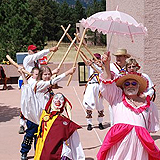 Pictures of the Maroon Bells Morris Dancers during the Maroon Bells 25th Aniversary Ale